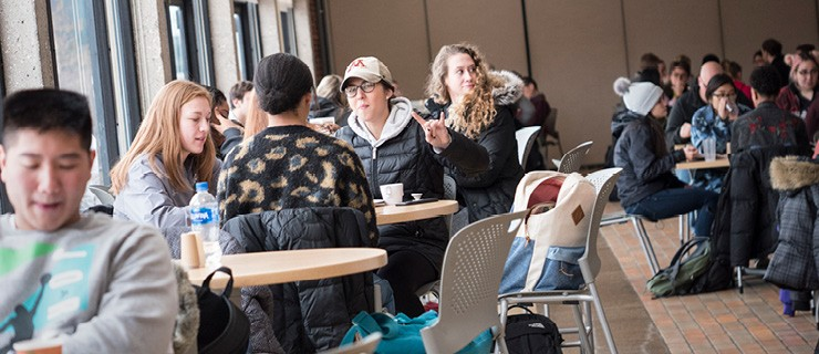 Students in the Commons