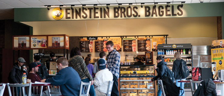Einstein Bros. Bagels in Christensen Center