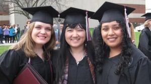 TRIO/SSS Students at Commencement 2014