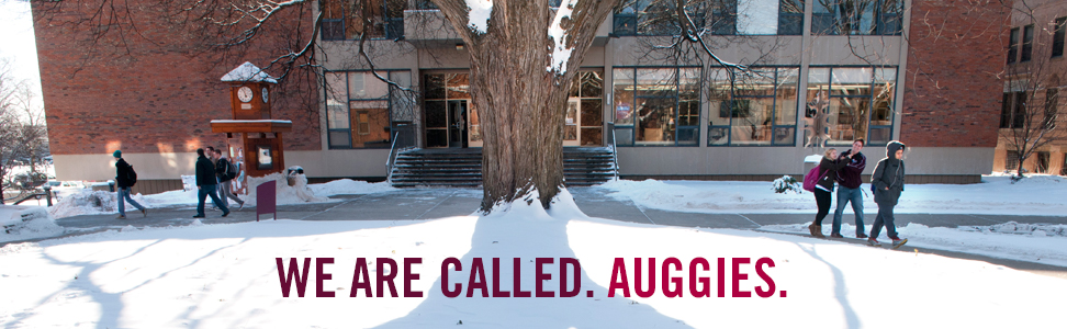We are called. Auggies
