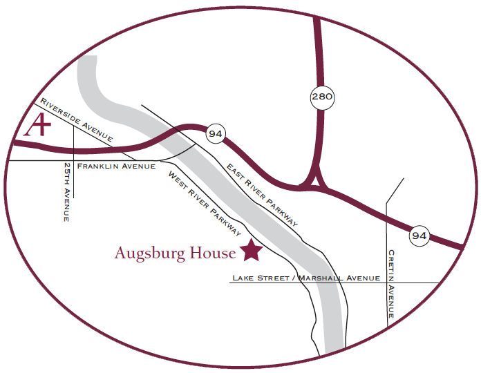 directions to Augsburg House