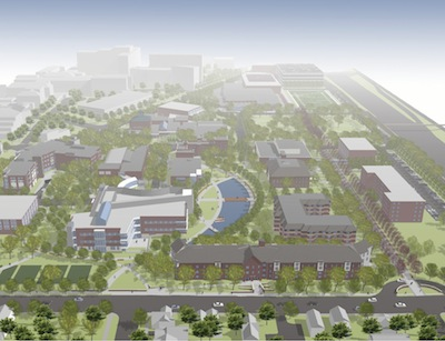 The Center for Science, Business and Religion will transform the campus.