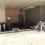 2. Smoking area by Oren Gateway Center