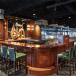 bar seating at Finnegans Brew Co.