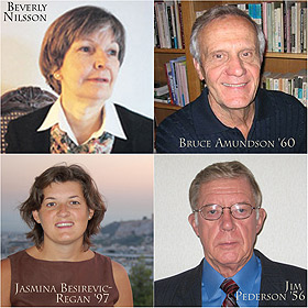 Beverly Nilsson, Bruce Amundson, Jasmina Besirevic-Regan, and Jim Pederson