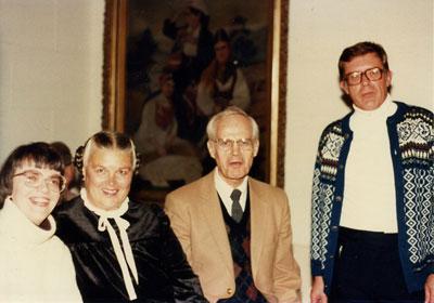 Lori Christianson, Ruth Helland, Phil Quanbeck, Jim Pederson