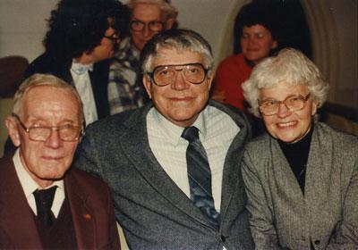 Jalmer Pederson, Joel Torstenson, Fran Torstenson