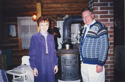 Elaine and Jim Pederson