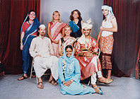 Group photo taken in India