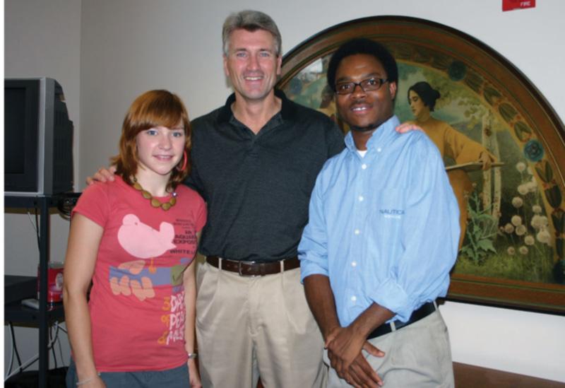 Kjerstin Hagen, R.T. Rybeck, and Richmond Appleton
