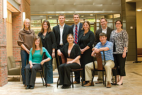 Young Alumni Council members