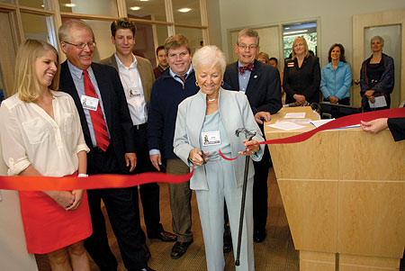 picture of Strommen Center ribbon cutting
